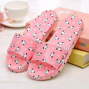 Cute Panda женщин тапочки Главная комната Тапочки сандалии