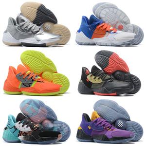 2020 새로운 남성 제임스하든 4 권. 4 개 4S IV MVP 4 권 키즈 남자 농구 신발 야외 스포츠 훈련 스니커즈