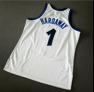 Custom Men Youth women Vintage Penny Hardaway Mitchell Ness 93 94 College Basketball Jersey Size S-4XL or custom any name or number jersey