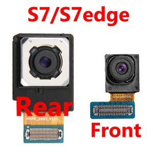 Front-Kamera für Samsung Galaxy S7 Rand G935F Zurück hintere Kamera-Modul Big Hauptkamera Flexkabel G930F