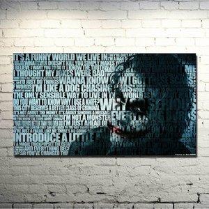 The Dark Knight Rises - Joker Film Oyun Sanat İpek Kumaş Poster Odası Dekor Resimleri 022 7yfu # için 13x24 24x43 inç yazdır
