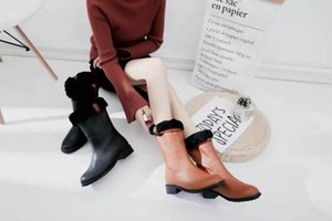 Ting2594 6131 New Boots In The Snow Boots Riding Rain Boot Boots Booties Sneakers Dress Shoes