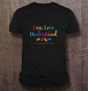 Canlı aşk Erkekler t gömlek Kadınlar tişört anlaşılması