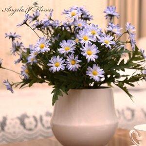 New 24 heads bouquet spring lovely daisy silk samll sunflower home decoration Photo props artificial chrysanthemum