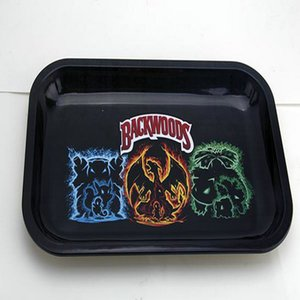 2016 2020 Rolling Tray Cartoon Tray Medium Size 27Cm175Cm23Cm Metal Tray Metal Tobacco Brass Plate Herb Handroller For Smoking Pipes From GJ