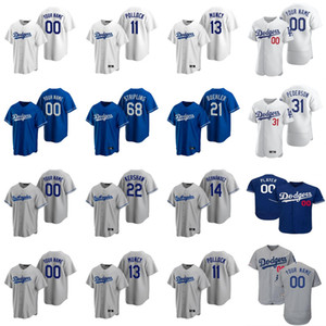 Maglie da baseball Donne Cody Bellinger Jersey 22 Clayton Kershaw 5 Corey Seager 10 Justin Turner 50 Mookie Betts A.j. Pollock personalizzato Stitche.