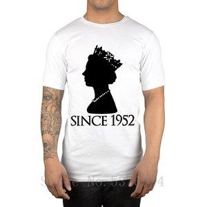 Queen Elizabeth II Since 1952 T-Shirt Monarch God Save The Queen Gift Idea