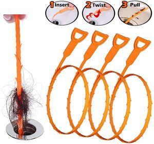 52cm Serpent drain Weasel cheveux Clog outil Kit de démarrage pour Deboucheurs Outils de nettoyage de ménage avec Opp Paquet