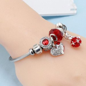 Fashion love stainless steel adjustable ladies bracelet personality simple and diversified accessories