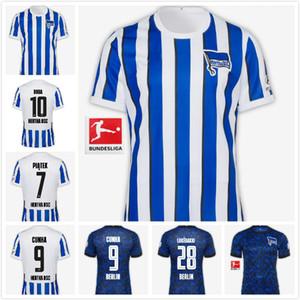Hertha BSC Soccer Jersey Piatek 20 21 CUNHA Maillot de football DILROSUN Berlin Hertha LUKEBAKIO hommes Jersey GRUJIC DARIDA Fußball-Triko thailande