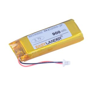 eplacement Batteries High capacity LI451949-2P WW452050-2P 3.7V 900mAh li-Polymer Battery For Cardo Scala Rider 4 G9 G9x earphone ZN452...