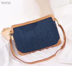 Retro kot bagdesigner Çanta Bel göğüs haberci çantası tasarımcı lüks çanta cüzdan haberci alışveriş omuz Totes Kozmetik torbayı cebe