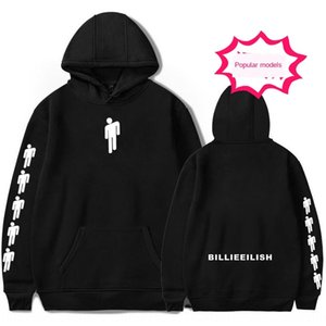 hej6n Fashion Billie Bracelet Eilish rap singer surrounding loose large size hooded Fashion Billie Bracelet Eilish sweater rap singer surrou
