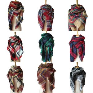Spring Wool Winter Scarf Hot Women Letter Shawl Scarf Fashion Long Neck Ring Christmas Gift Wholesale 180X65Cm#408