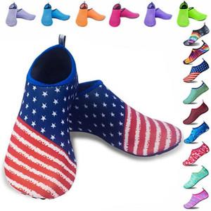 Пробираясь обувь Quick-Dry Дайвинг Beach Water Socks Версия Leather Boots Пляж Плавание Подводное Серфинг Йога тренировки обувь