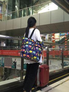 Folding large capacity mommy 8011 Folding large capacity Shopping shopping bag mommy bag 8011