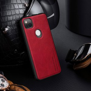 Protect Cases for Google Pixel 4a New Anti-fall Soft Leather Mobile Phone Case Simple All-inclusive Protective Cover