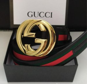 Fashion gûccì designer Belts men 3.8-3.4-2.0cm cowhide leather Belt metal smooth buckle solid jeans belts for women with box