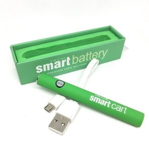Smart Battery Preheat Vape Pen with USB Charger Starter Kits Variable Voltage Ego Thread 380mAh For 510 Vape Cartridges Smart Carts