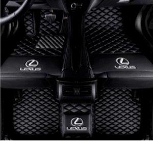 For Lexus LX 2007-2019 Luxury Custom waterproof car mat Waterproof Non-slip Carpets floor mat Non toxic and inodorous