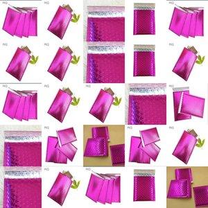 Los sobres acolchados 1375X11 burbuja Polymailer 1375 x 11 pulgadas Peel Sello púrpura Paquete de 50 Aplus Medios de burbujas Sobres acolchados Polymailer sweet07 ts