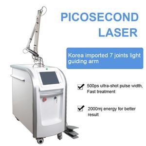 Profesyonel salon kullanımı pikosaniyelik lazer Q nd yag pikosaniyelik dövme silme makinesi cynosure picolaser nokta kaldırma ekipmanı anahtarlamalı