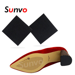 Palmilhas 2pcs antiderrapante Shoes Sole Protector Pad por Mulheres High Heel Sandal sola de borracha adesiva chão inferior aperto Shoe Sticker Pads