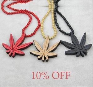 HOT NEW! 10% скидка! Hip Hop листьев четки кулон бисером ожерелье Good Wood UK NYC ожерелье