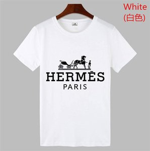 HERMÈS 2020 Fashion Designer Marque P-P chaud forage Skulls T-shirt Vêtements pour hommes T-shirts pour hommes Hauts manches courtes T-shirt