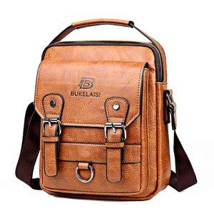 Luxury Shoulder Bag Small Waterproof Diagonal Bag Men Black Zipper Business Bag Men Brand Handbag Satchel WJJ
