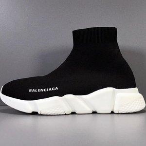 Balenciaga Nuovo stilista velocità Calze Scarpe casual bianco nero moda formatori Runner Triple Nero stivali rossi piatto pesante suola delle scarpe da tennis 36-45