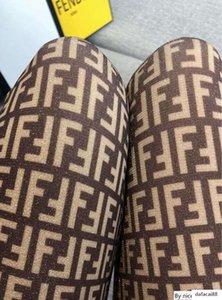 Mode Nouveau cadeau boîte mode Pantynose détail Emballé F lettre pleine d'été et les femmes Pantyhose de sexy automne bling Pantyhose