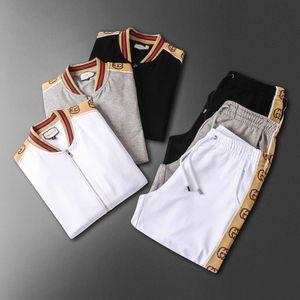 Mens Shirts Tracksuit Pants Sets Two Piece Beach Clothes Party Shirts Suit 2020 Men Streetwear Fashion Flower Printed Sweat Pant