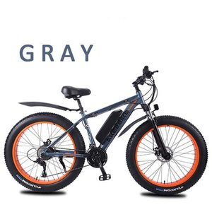 bicicletta 26 pollici a velocità variabile in lega di alluminio potenza mountain bike elettrica motoslitta pneumatici grossa macchina per adulti