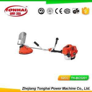 TONGHAI Supply 52CC Handheld Gasoline Shrub Trimmer brush cutter engine