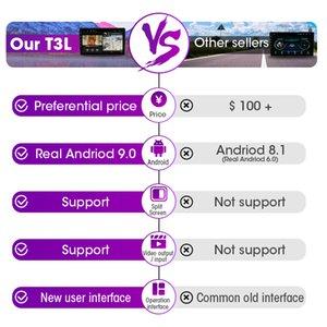 Frame ile Freeshipping Android 9.0 Araç Radyo İçin Hyundai Tucson 3 2015-2018 Multimedya GPS Video Player 2 Din 2 + 32G Stereo Bölünmüş Ekran