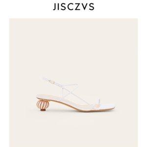 Punta quadrata banda stretta Tacchi alti Sandali donna Vintage tallone design Gladiator Sandals delle donne 2020 Scarpe Estate Chic romani