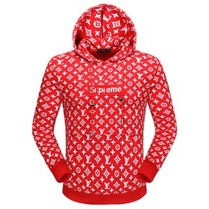 concepteur yy hommes hoodies Ensembles 2020 hommes Hoodie Sweatershirt Pull Hoodies Vêtements de luxe mince longs mouvements manches Streetwear