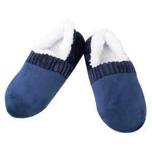 Men Soft Slippers House Floor Socks Anti-slip Indoor Winter Warm Slipper MUG88