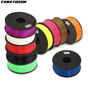 Nouvelle imprimante 3D 1,75 mm 1kg / rouleau ABS Filament en plastique Consommables en caoutchouc Matériau 3D Imprimante Filament pour stylo d'imprimante 3D