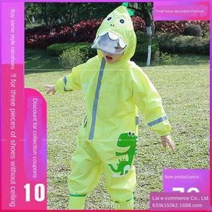 s6WMS Jumpsuit Cloak vücut kız ve anaokulu koruma dinozor çocuklar yansıtıcı bebek çocuk için koruyucu gövde giysi giysi