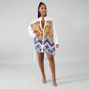 Irregular Long Sleeve Blouses Women Fashion Sexy Shirt Womens Loose Designer Leaf Shirts Woman Summer Elegant