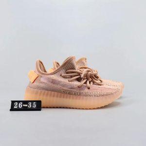 2020 neue Kinder Schuhe yeezys Jungen-Mädchen-Laufschuhe Kany West-Sport-Trainer-Sneaker EUR 26-35