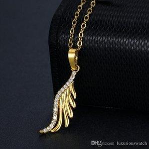 2020 new ladies Korean creative jewelry accessories women fashion temperament personality gold zircon pendant diamond necklace for love