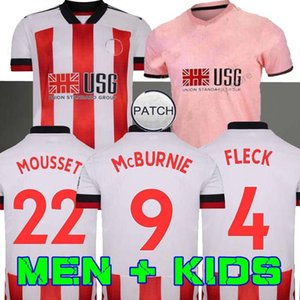 20 21 Sheffield Soccer Jerseys berge MOUSSET United 2020 2021 McBURNIE LUNDSTRAM FLECK men kids kit Football Shirt NORWOOD SHARP Jersey