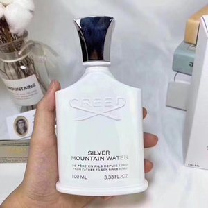 Hot sale perfume Creed sliver mountain water for men cologne 100ml with long lasting time good smell free shipping