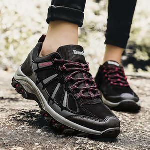 Popüler Yürüyüş Kadınlar Sneakers Kış Eğitmenler Kaymaz Seyahat Ayakkabı Hill Dağ Kadınlar Açık Spor Ayakkabı Tırmanma Yürüyüş