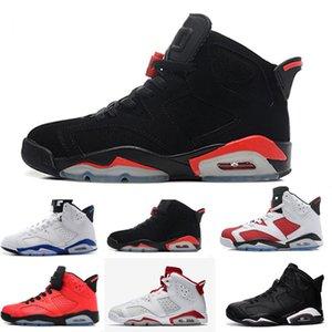 Discount Travis Olive 6 6s Men Basketball Shoes Jumpman UNC Tinker Reflect Silver Flight Nostalgia Jumpman Black Infrared Sneaker Trainers