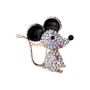 2020 designer brooch year mouse french brooch hot sale ladies fashion new cartoon brooch accessories jewelry