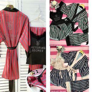 8dQJA moda atractiva Weimi caliente de cuatro piezas conjunto de conjunto 4Lace de 4 diamantes VS rayado similar a la seda pijama de raso traje de cuatro piezas de encaje para las mujeres SPR
